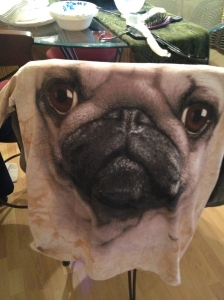 picture of a pug picture t-shirt
